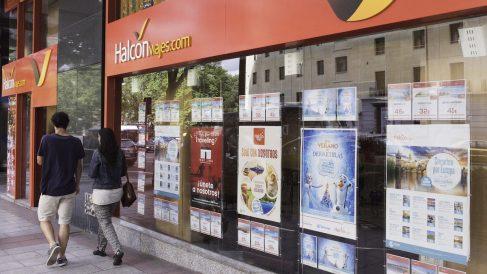 Oficina de Halcón Viajes en Madrid (Foto: GLOBALIA).