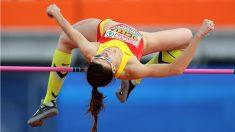 Ruth Beitia campeona de Europa de atletismo. (Getty)