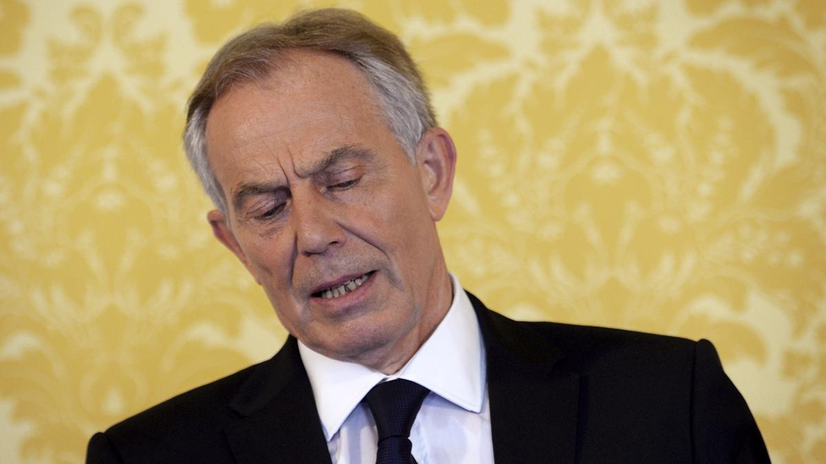 Tony Blair. (Foto: AFP)