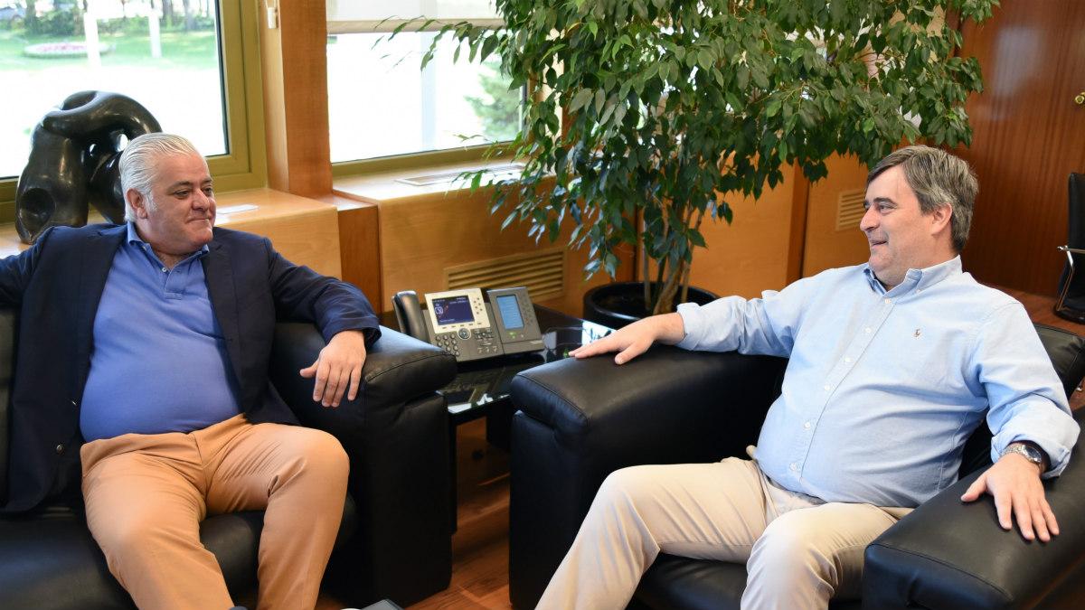 Miguel Cardenal se reunió el viernes con el Fernández-Ladreda. (CSD)