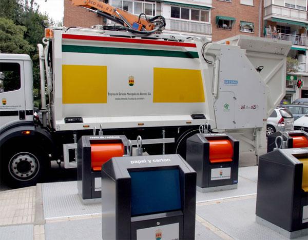 Esmasa, empresa de limpieza municipal de Alcorcón (Foto: Esmasa)