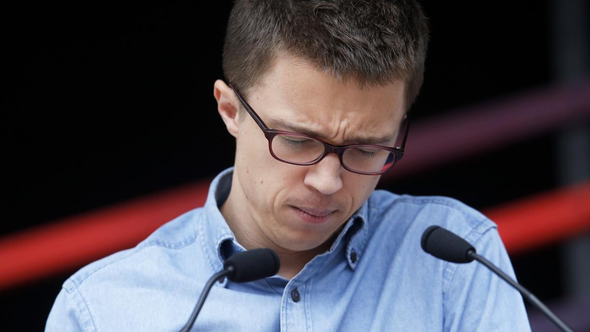 Iñigo Errejón. (Foto: AFP)