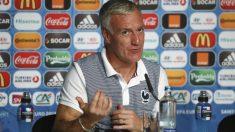 Deschamps analizó el Portugal-Francia en sala de prensa. (Reuters)