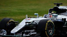 Lewis Hamilton se hizo con la pole en SIlverstone (Getty)