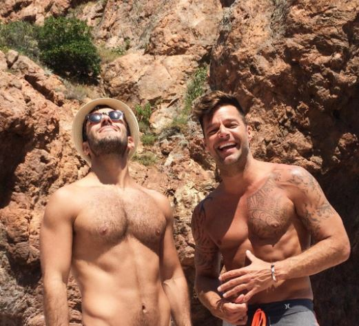 Ricky Martin y Jwan Yosel (Instagram)