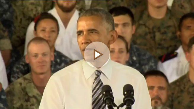 Obama asegura en Rota que «no podemos pedir un aliado mejor que España»
