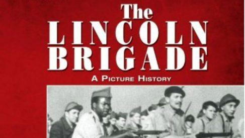 Portada de 'Lincoln Brigade', regalo de Pablo Iglesias a Barack Obama.