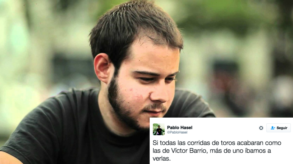 El rapero podemita Pablo Hasél.