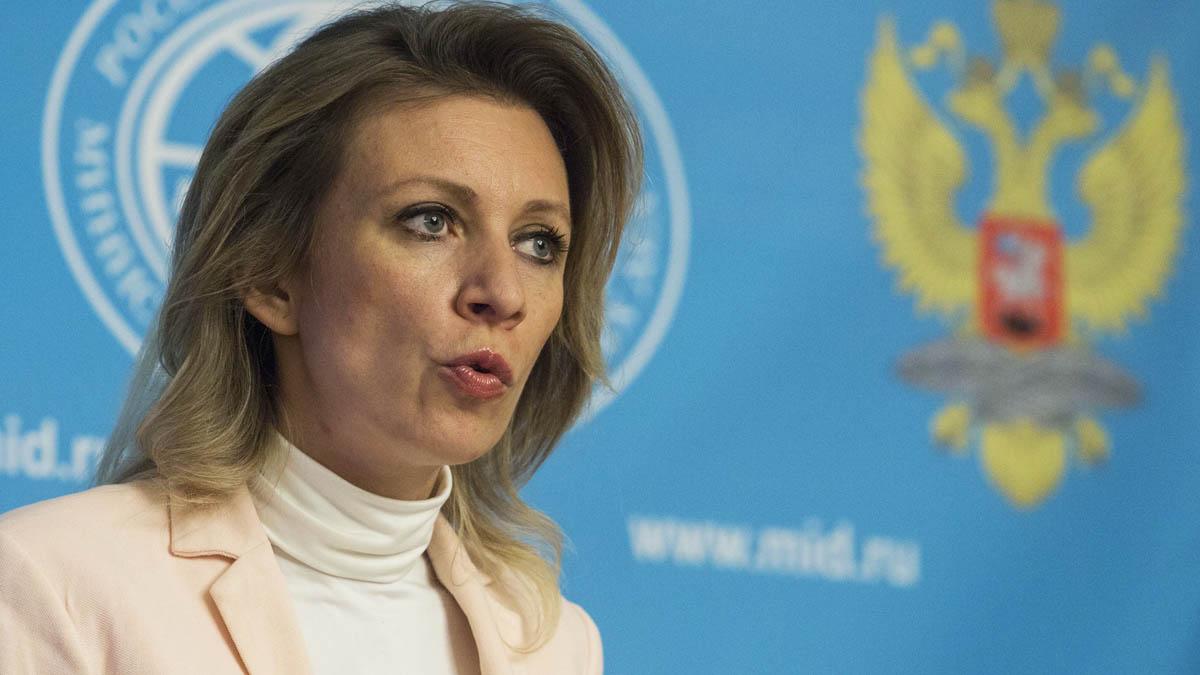 Maria Zakharova, portavoz rusa de Exteriores (Foto: Getty)