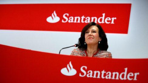 La presidenta del Banco Santander, Ana Patricia Botín Foto: GETTY)