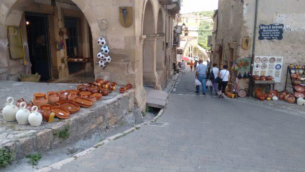 La rutina vuelve a Sepúlveda tras el funeral del lunes. (Foto: OKDIARIO)