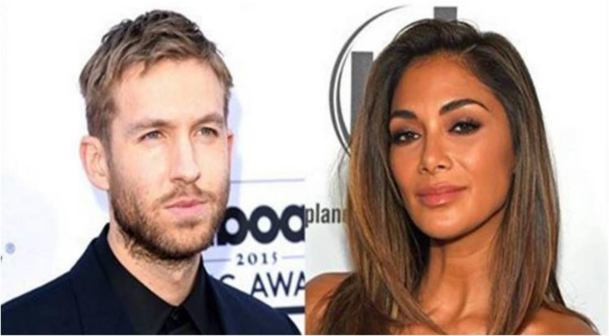 Calvin Harris y Nicole Scherzinger (Instagram)