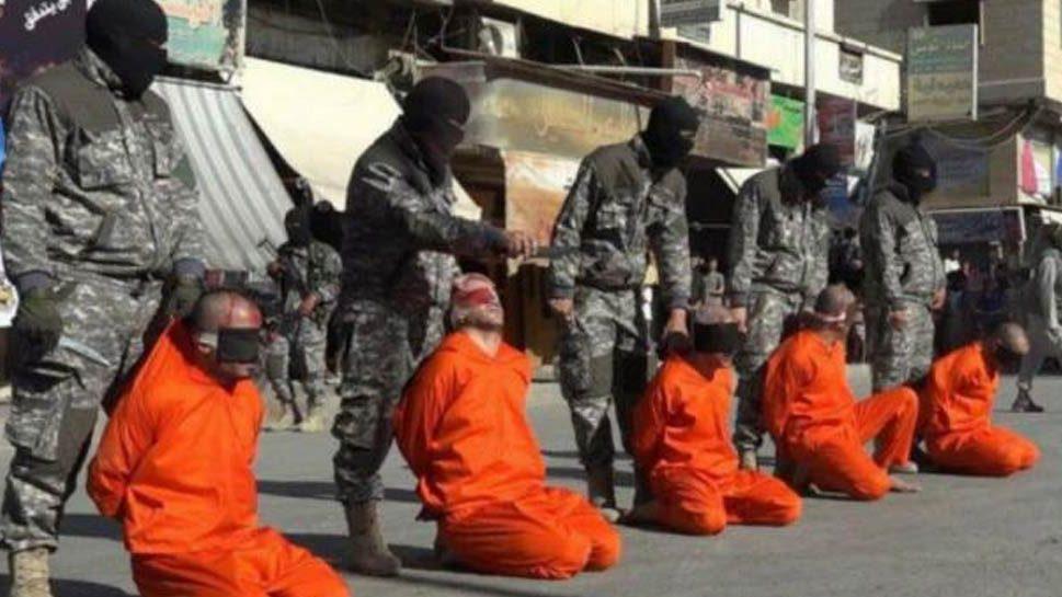 El Estado Islámico ejecutó a los futbolistas a plena luz del día.