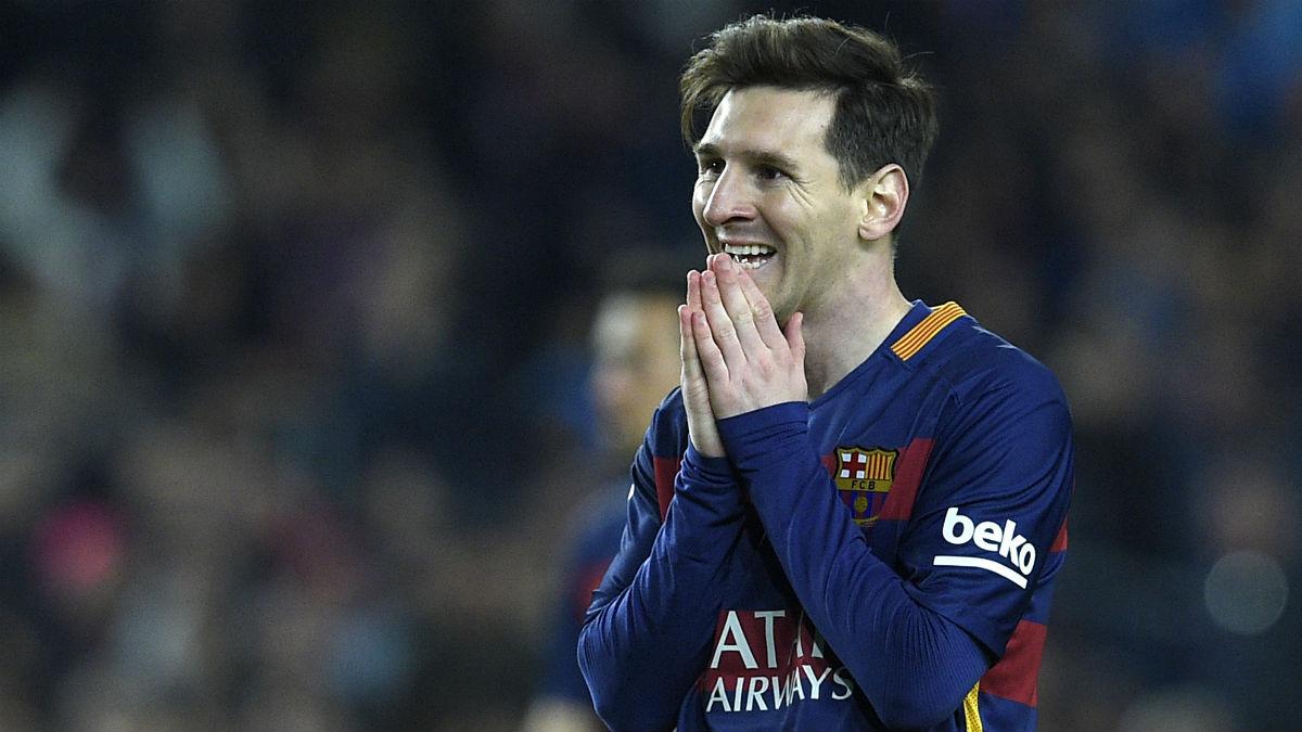 Messi va a apretar las tuercas al Barcelona tras la renovación de Neymar. (AFP)