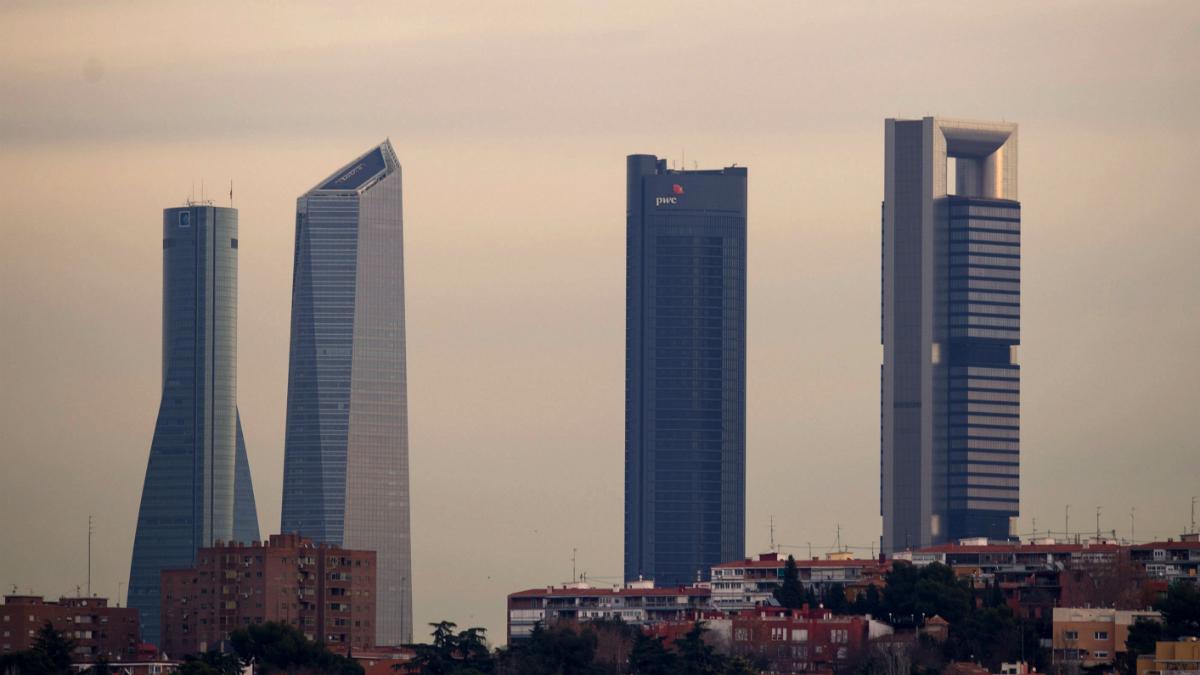 Cuatro torres de Madrid (Foto: GETTY).