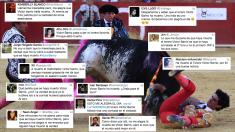 Algunos de los tuits vejatorios. (Foto: EFE)
