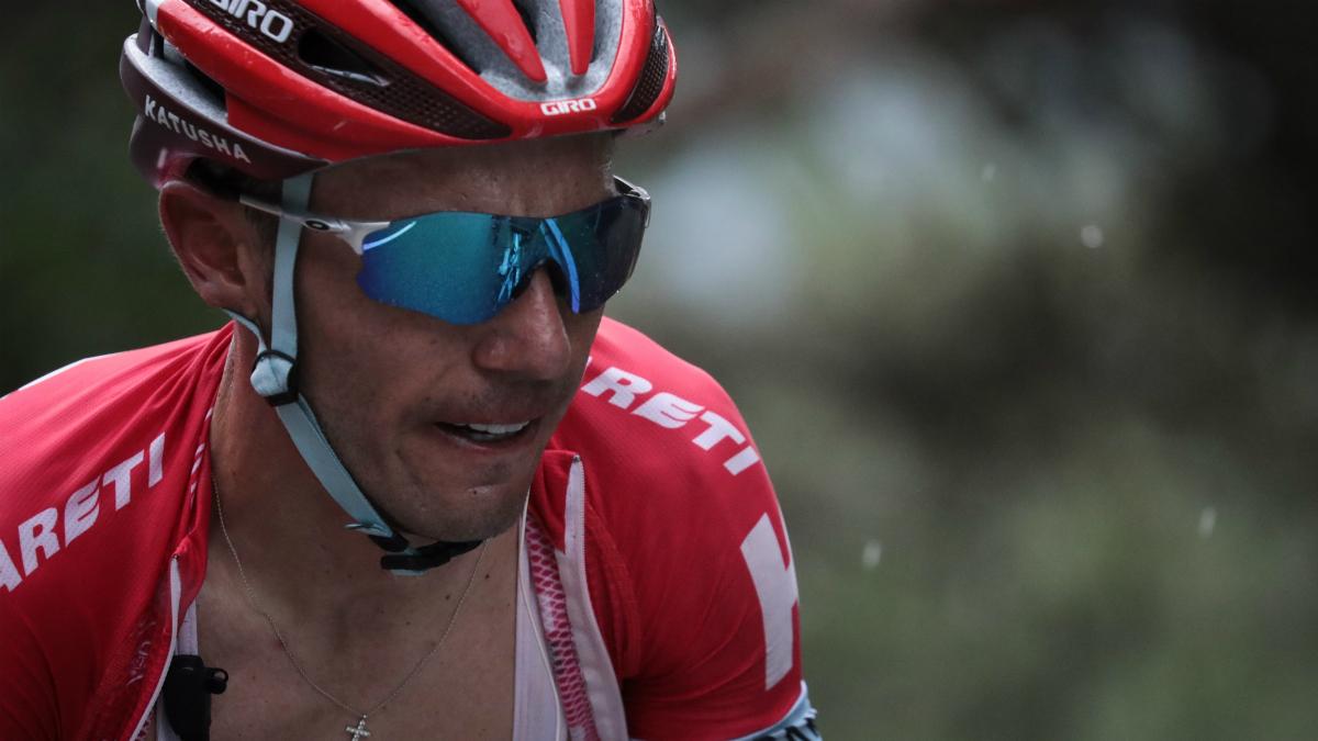Joaquim Rodríguez, en una etapa del Tour. (AFP)