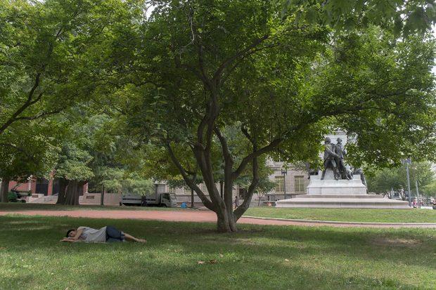 Esta foto fue tomada de espaldas a la Casa Blanca, en Washington en los Estados Unidos. (Foto: O. Curtis)