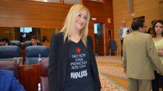 Cristina Cifuentes este jueves en la Asamblea de Madrid. (Foto: PP)