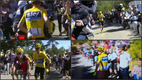 La secuencia de los hechos que deja a Chris Froome sin maillot amarillo.