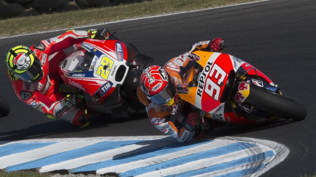 Ducati y Honda andan a la gresca por el asunto de la prohibición de las alas en 2017. (Getty)