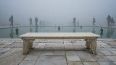 Esta es la vista que se puede disfrutar si se le da la espalda al imponente Taj Mahal de la India. (Foto: Oliver Curtis)