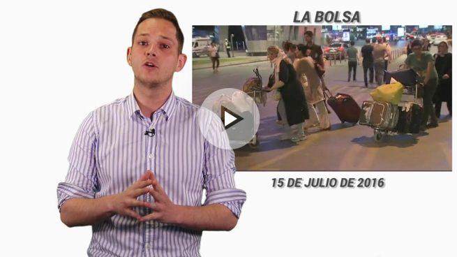 Las Bolsas ya no cotizan el terrorismo: el Ibex retrocede un 0,25%