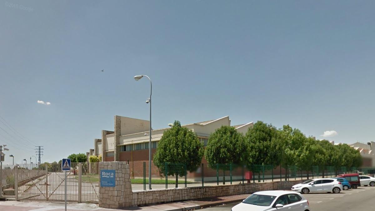 Fábrica de Roca en Alcalá de Henares (Foto: GOOGLE STREET VIEW).
