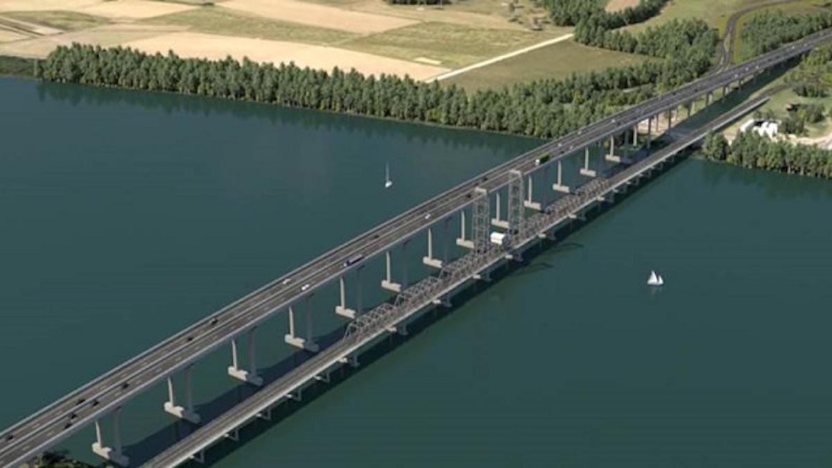 Diseño del Clarence River Crossing (Fuente: FERROVIAL).