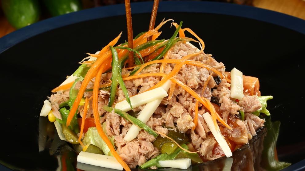 Receta de ensalada japonesa