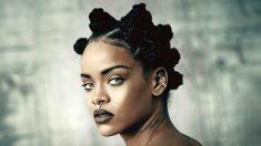 La cantante estadounidense Rihanna.