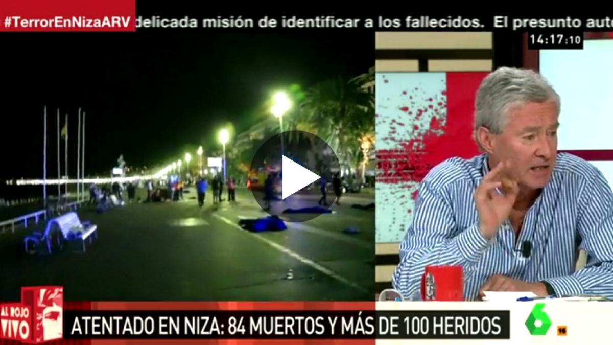 Jorge Verstrynge, en el programa Al Rojo Vivo de La Sexta