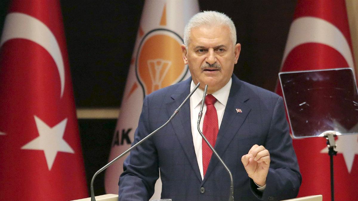 El primer ministro turco, Binali Yildirim. (AFP)