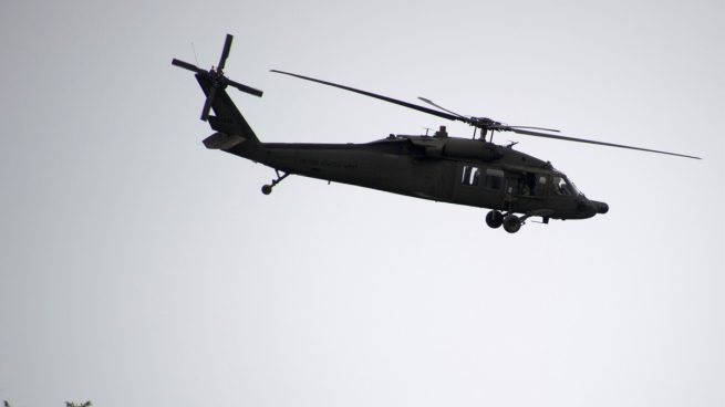Desaparece un militar tras estrellarse un helicóptero 'Black Hawk' del Ejército de EEUU frente a Yemen