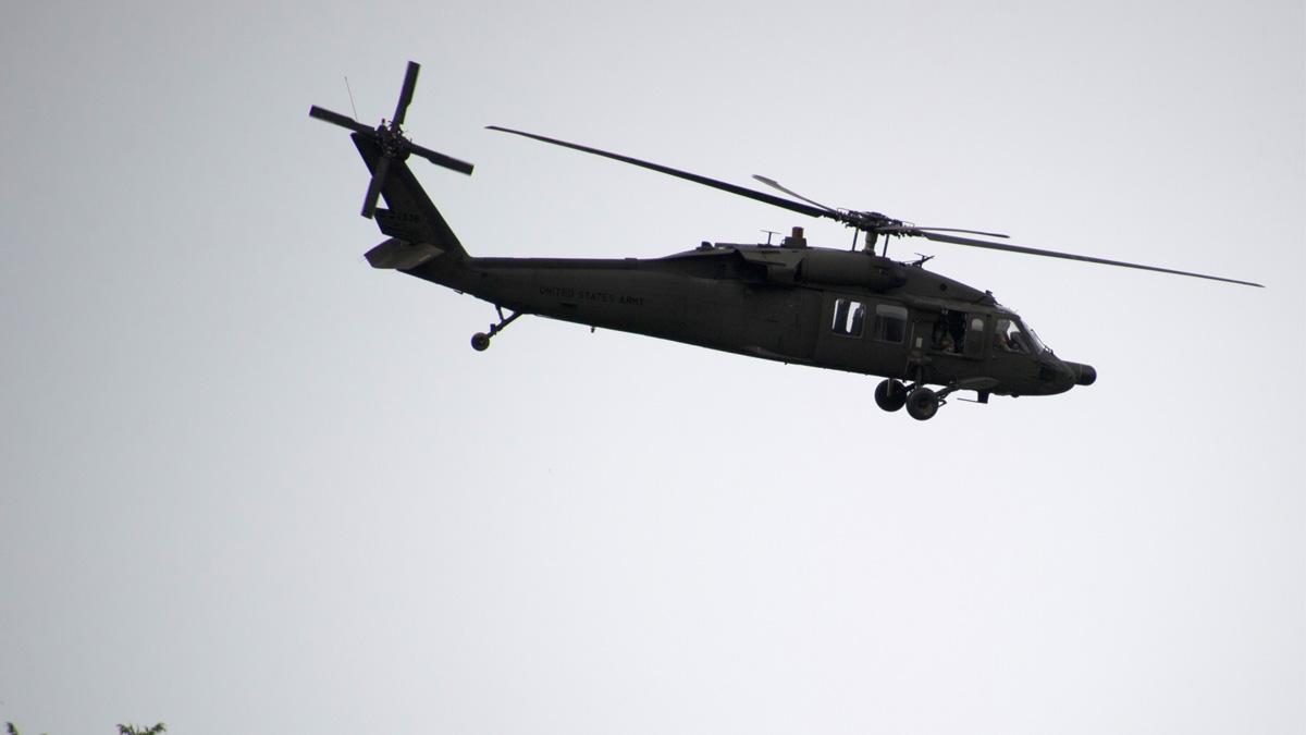 Un helicóptero Blackhawk como el empleado por los militares en su huída a Grecia. (Foto: AFP)