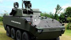 El blindado Piraña 5 de General Dynamics para el transporte de tropas, similar al comprado por el Ejército español