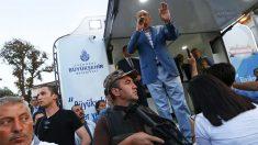 Recep Tayyip Erdogan durante su discurso este sábado en Estambul (Reuters)