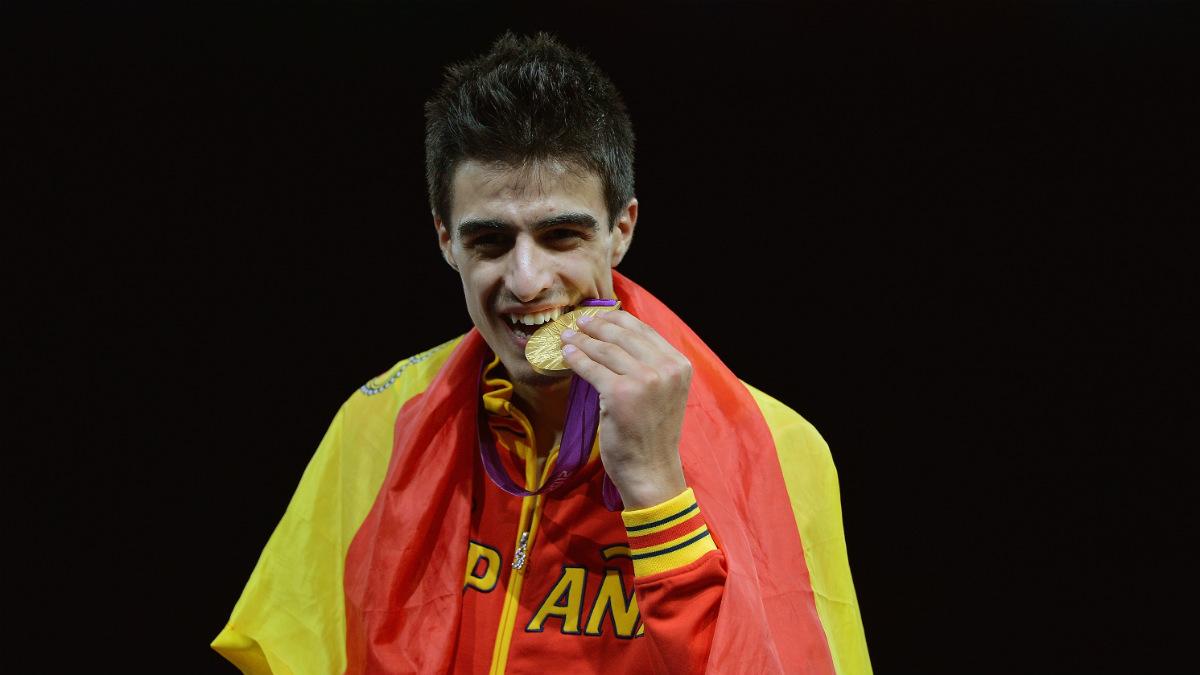 Joel González espera revalidar su oro olímpico en Río de Jainero. (Getty)