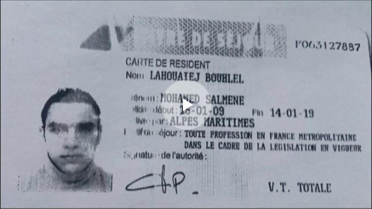 Permiso de residencia de Mohamed Lahouaiej-Bouhlel.