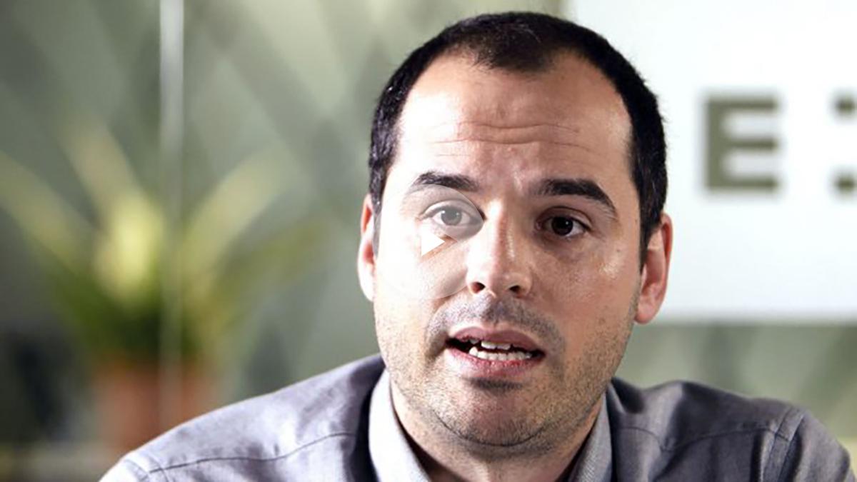 El líder de Ciudadanos en Madrid, Ignacio Aguado. (Foto: Efe).