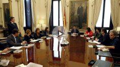 Primera reunión de la Mesa del Congreso. (Foto:EFE)