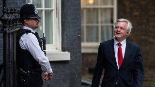 David Davis, ministro británico para el Brexit. (Foto: GETTY)