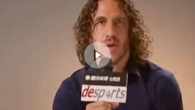«Soy Carles Puyol y soy español»