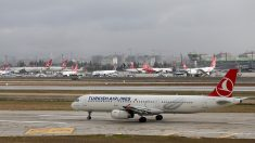 Aviones de Turkish Airlines en Estambul (Foto: GETTY).