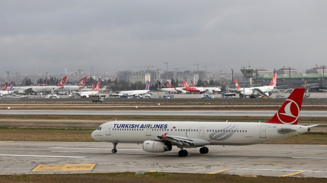 Aviones de Turkish Airlines en Estambul (Foto: GETTY)