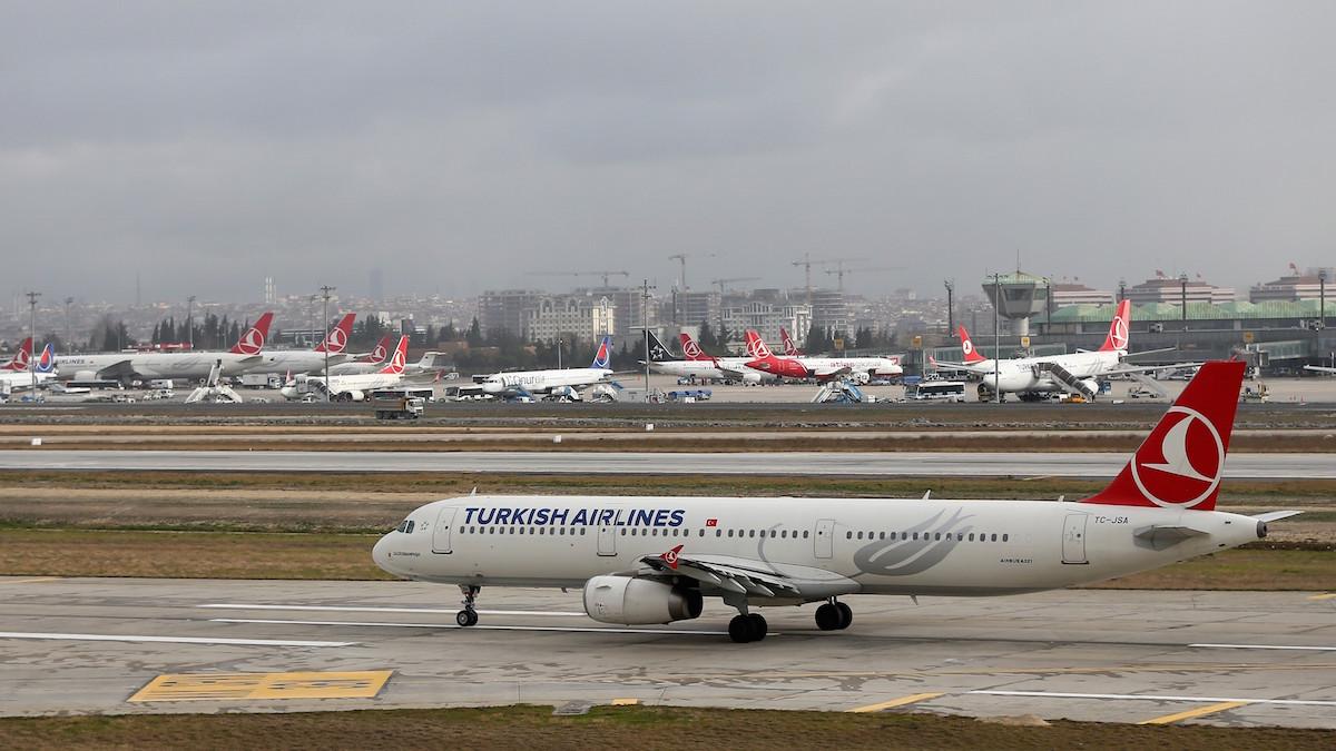 Aviones de Turkish Airlines en Estambul (Foto: GETTY).