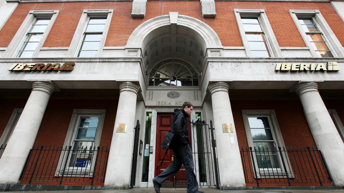 Oficinas de Iberia en Londres (Foto: GETTY).