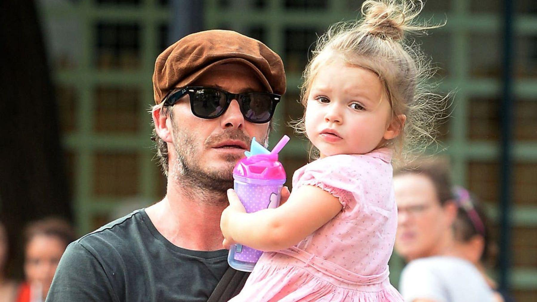 David Beckham, el DILF internacional más famoso de todos