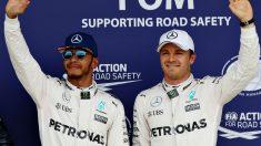 ¿Son Lewis Hamilton y Nico Rosberg los nuevos Senna y Prost? (Getty)