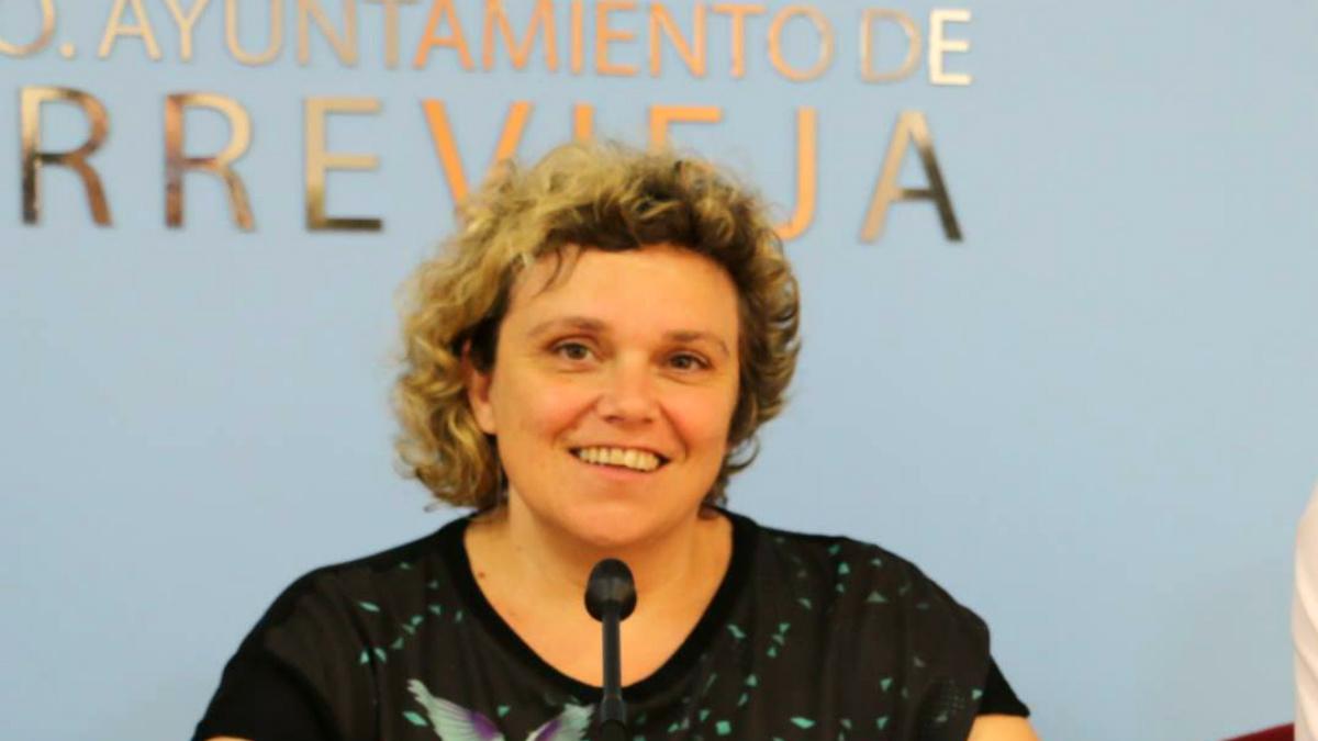 María África Celdrán, concejal socialista de Igualdad en el Ayuntamiento de Torrevieja. (FB)